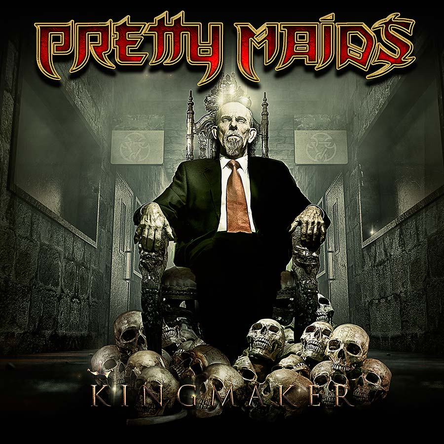 pretty maids kingmaker critica portada review cover