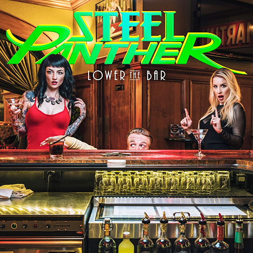 steel panther lower the bar portada