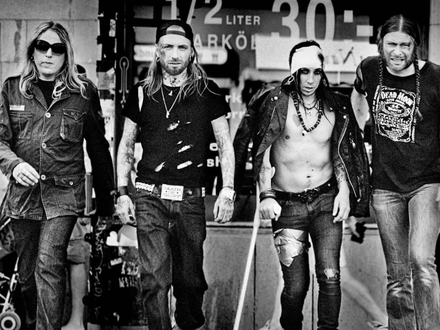 Backyard Babies Band 2017